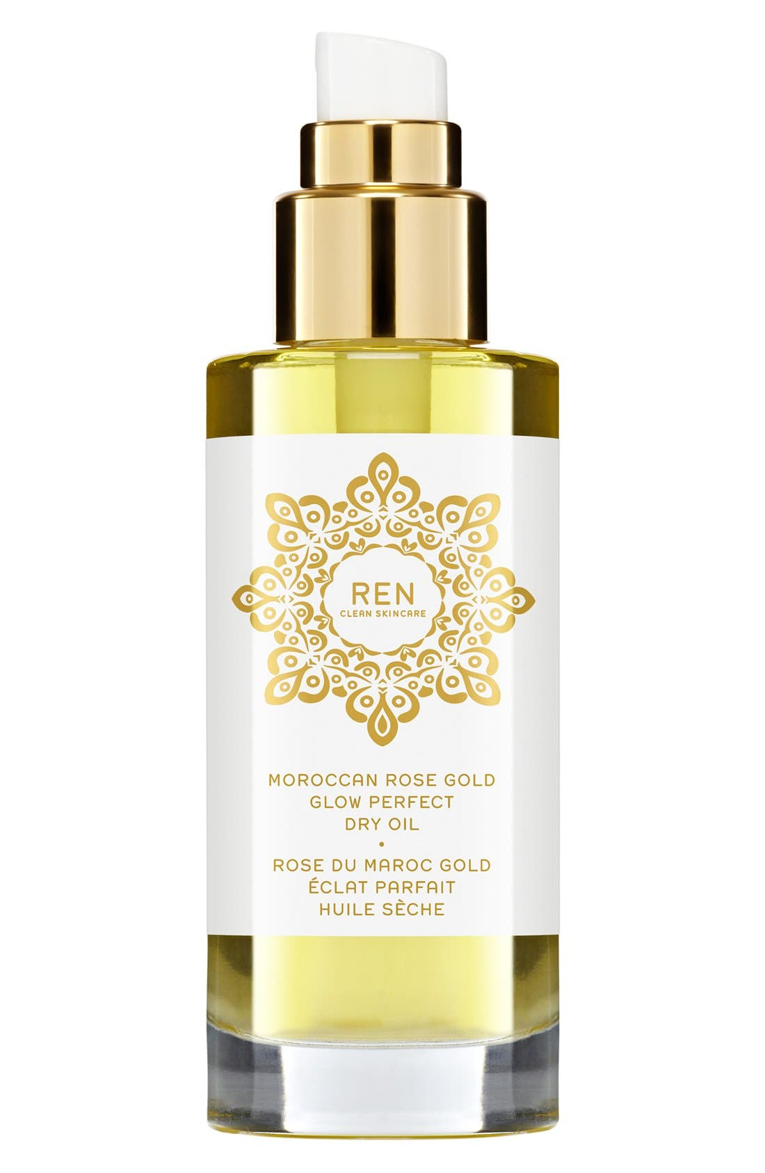 SPACE.NK.apothecary REN Moroccan Rose Gold Glow Perfect Dry Oil