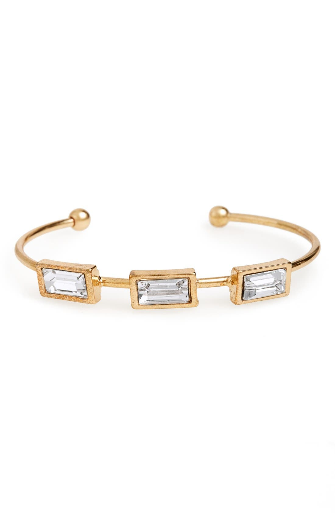 Alternate Image 1 Selected - Sole Society Crystal Cuff