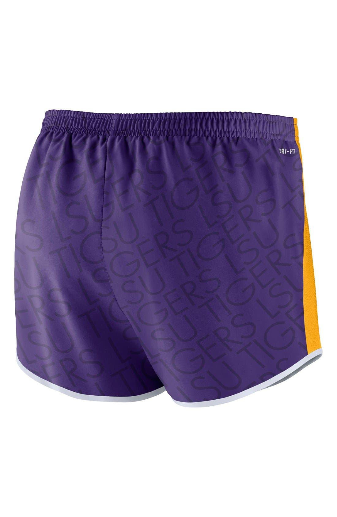 Alternate Image 2  - Nike 'Champ Drive - Louisiana State University' Logo Dri-FIT Shorts