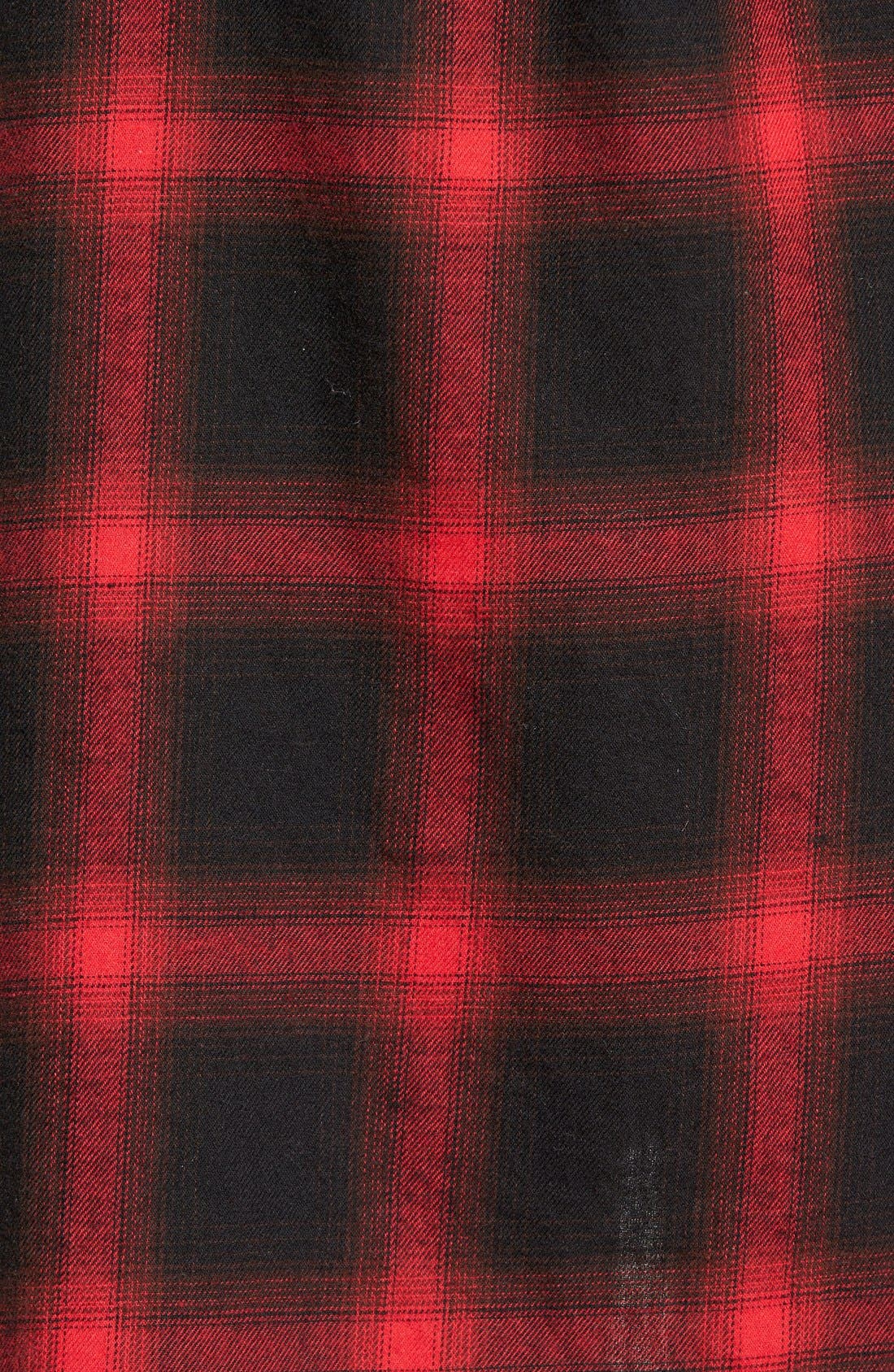 Alternate Image 5  - Sandra Plaid Side Button Detail Tunic