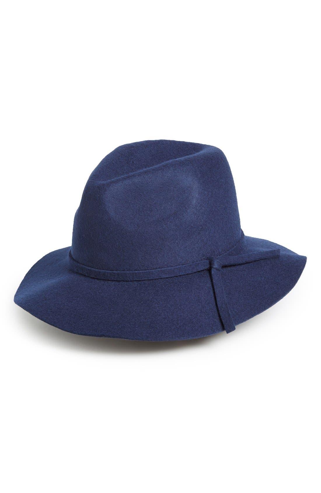 Main Image - Emanuel GeraldoKnot Band Wool Felt Panama Hat