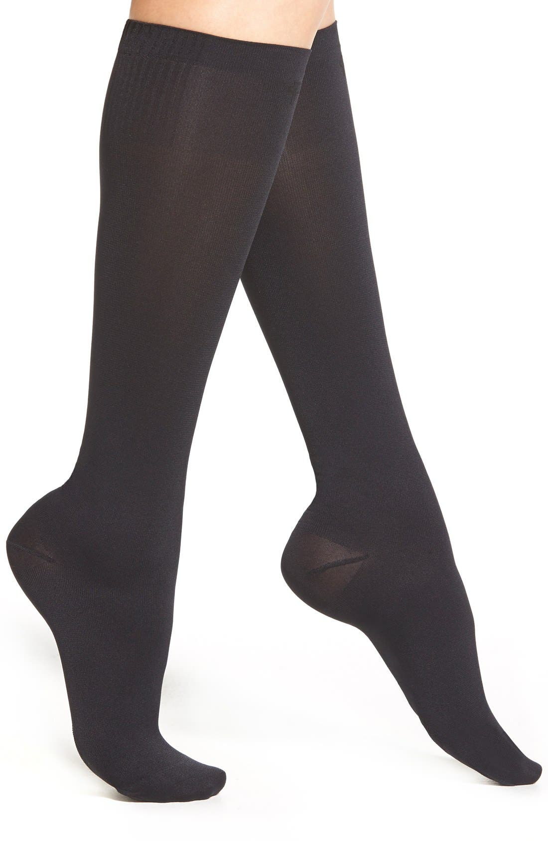 Main Image - Pretty Polly 'On the Go' Compression Trouser Socks