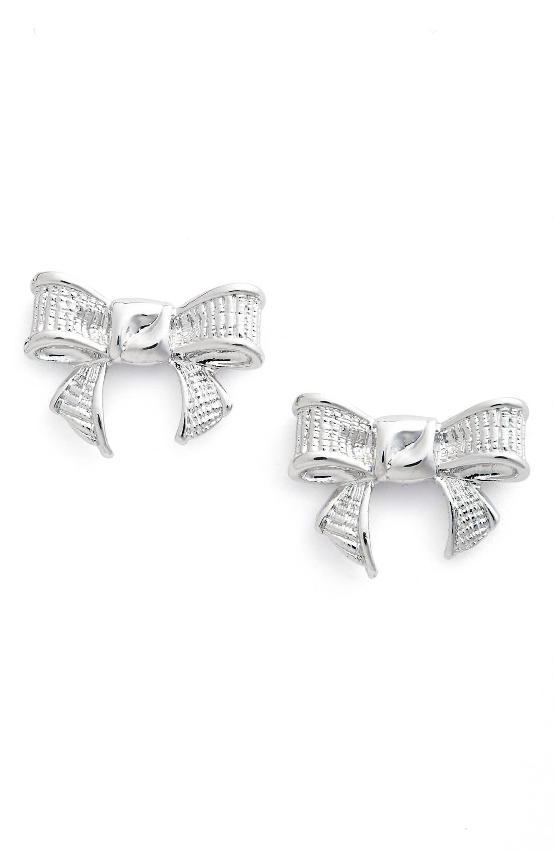 Alternate Image 1 Selected - Ted Baker London 'Glori' Bow Stud Earrings