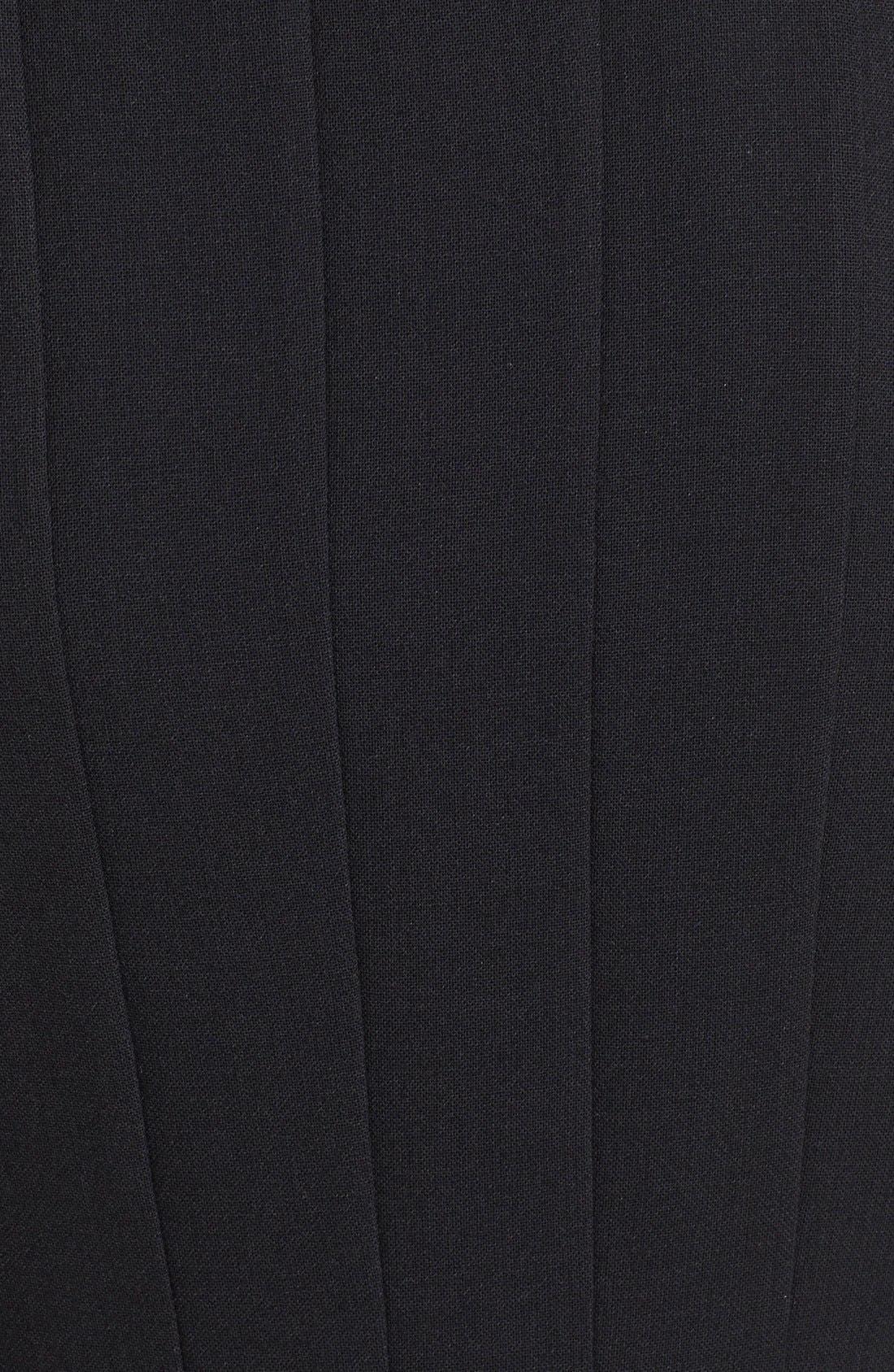 Alternate Image 3  - Akris Sleeveless Godet Pleat Dress