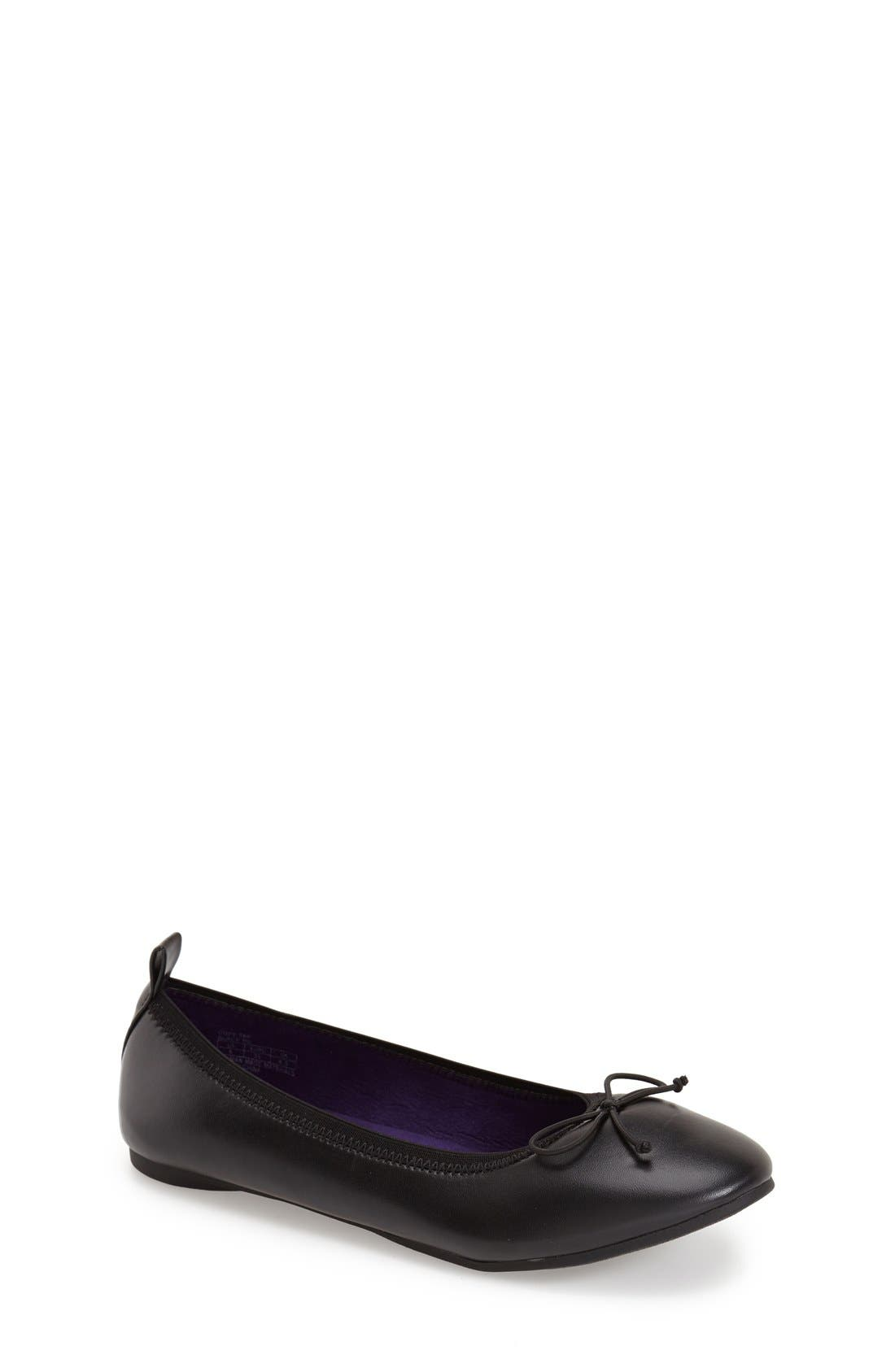 REACTION KENNETH COLE Copy Tap Metallic Ballet Flat