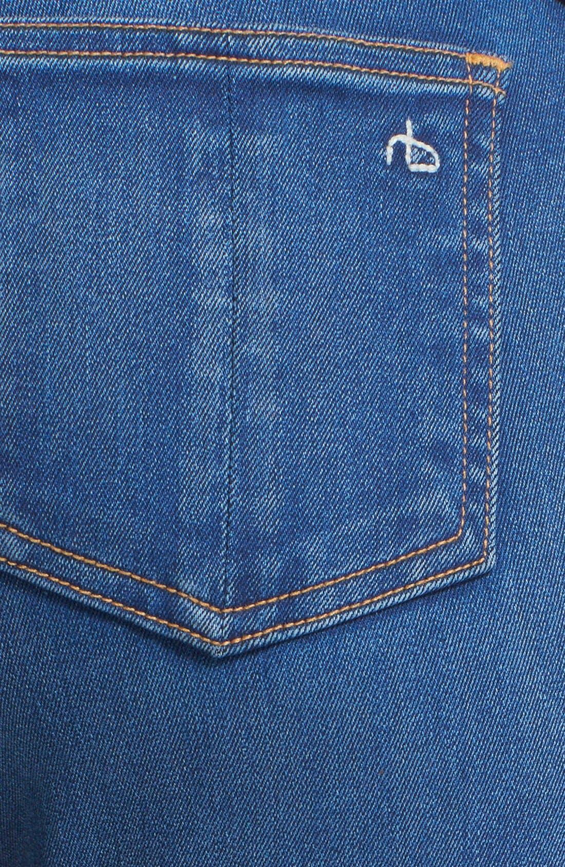 Alternate Image 5  - rag & bone/JEAN Bell Bottom Jeans (Houston)