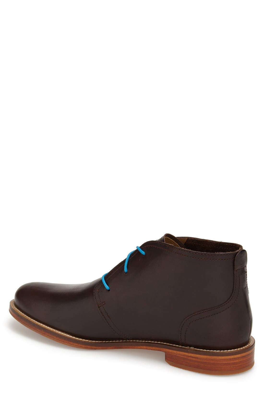 'Monarch Plus' Chukka Boot,                             Alternate thumbnail 2, color,                             Dark Brown Leather