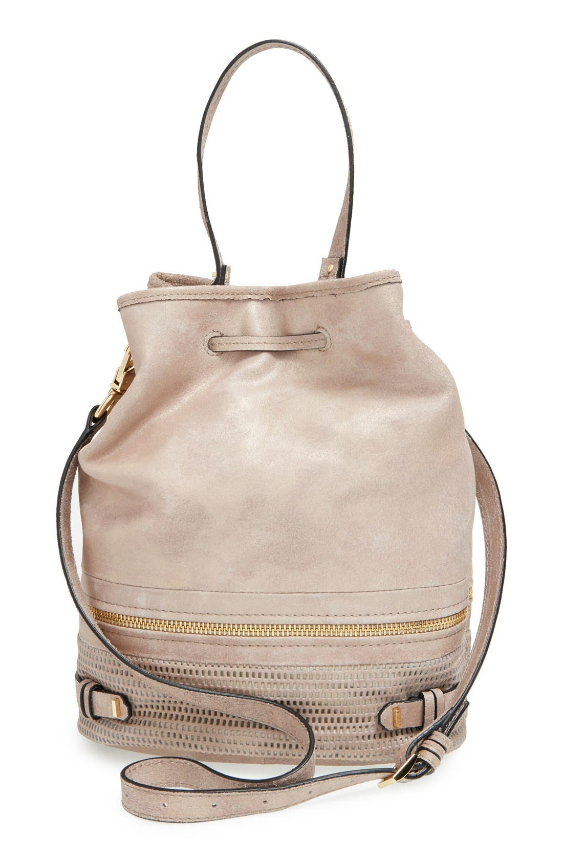 Alternate Image 4  - She + Lo 'Silver Lining' Drawstring Shoulder Bag