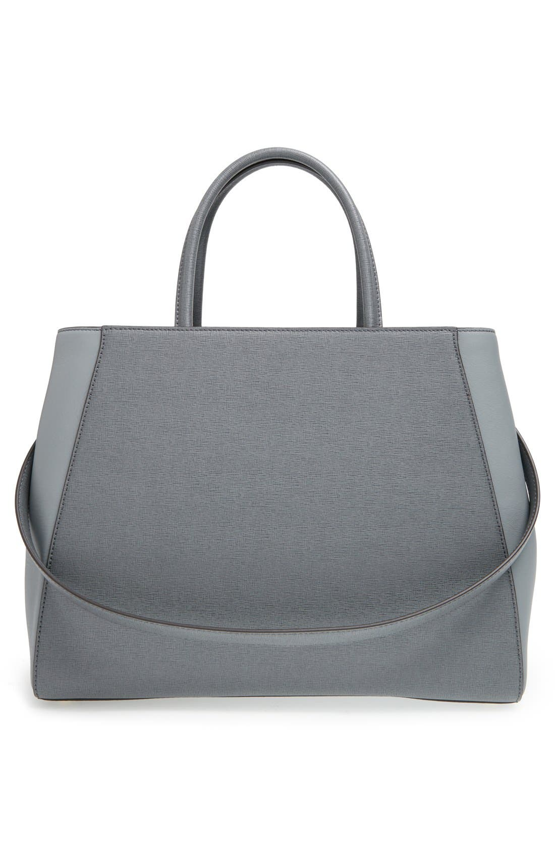 Alternate Image 3  - Fendi '2Jours Elite' Leather Shopper