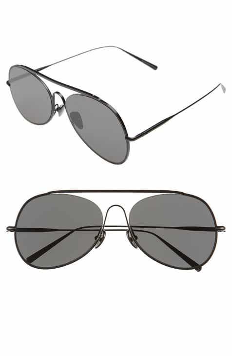c622a2af106 Acne Studios Large Spitfire 57mm Aviator Sunglasses