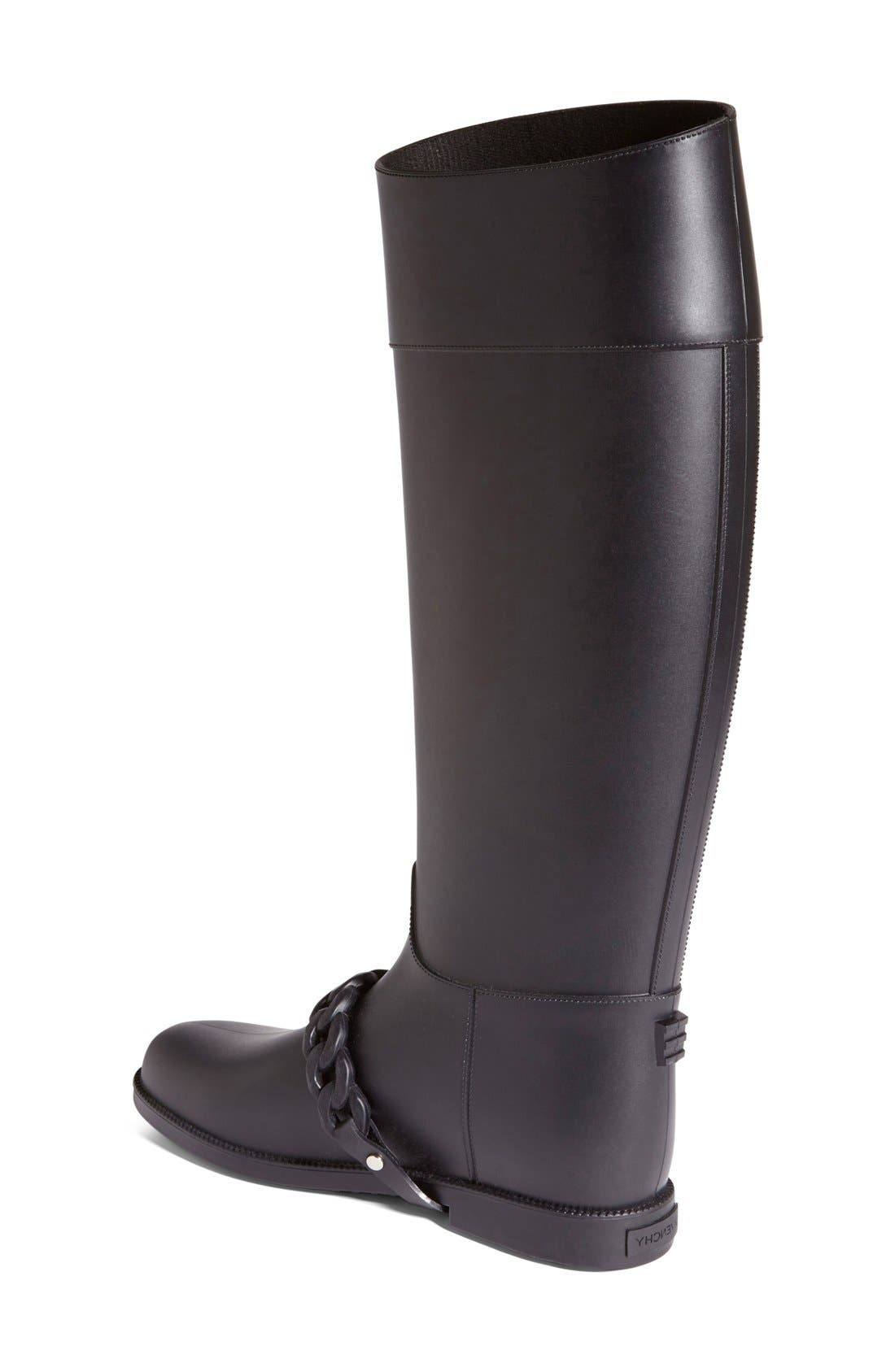 Alternate Image 2  - Givenchy 'Eva Chain' Tall Rain Boot (Women)