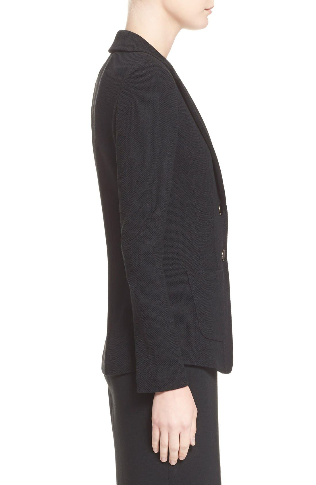 Alternate Image 5  - St. John Collection Milano Piqué Knit Jacket