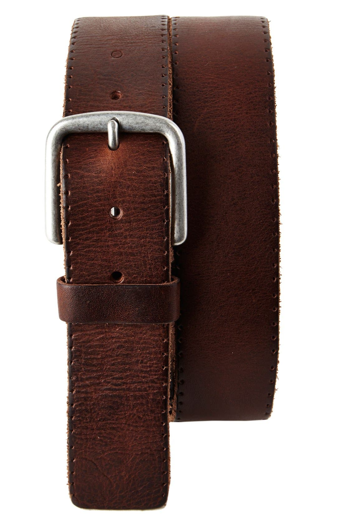 Alternate Image 1 Selected - Trafalgar 'Winslow' Leather Belt
