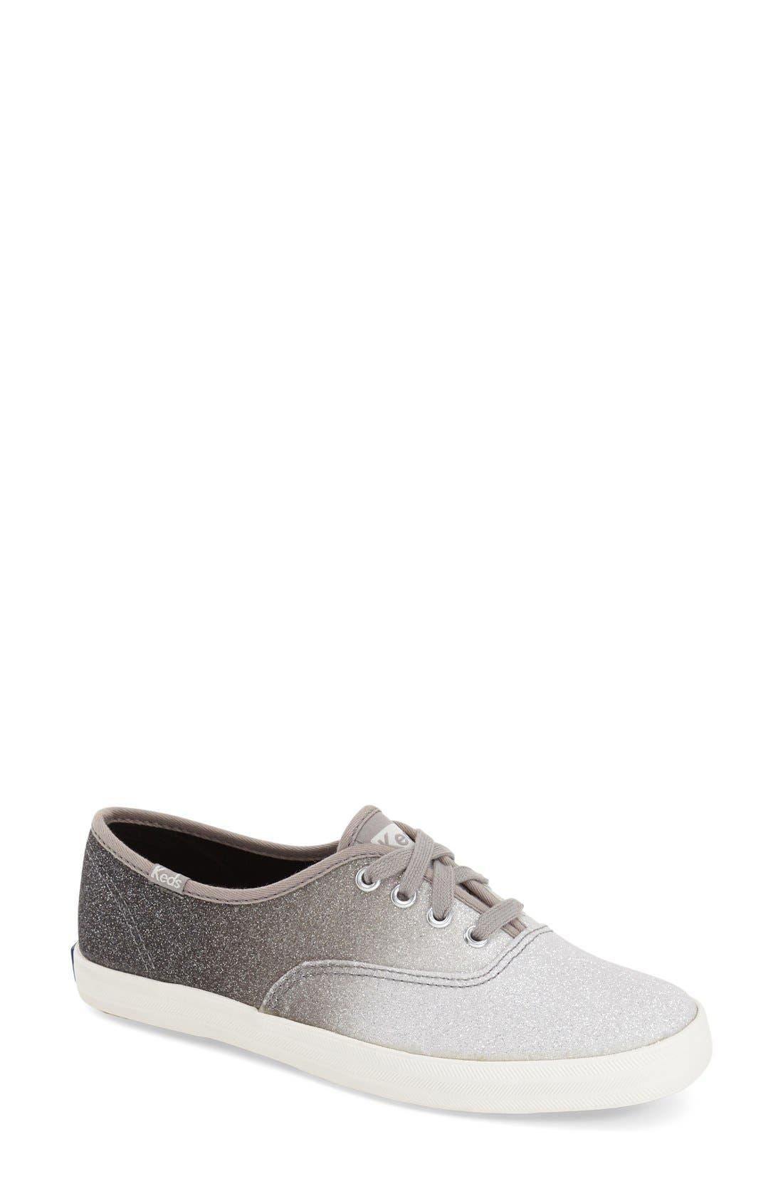 Alternate Image 1 Selected - Keds® 'Champion - Ombré Glitter' Sneaker (Women)