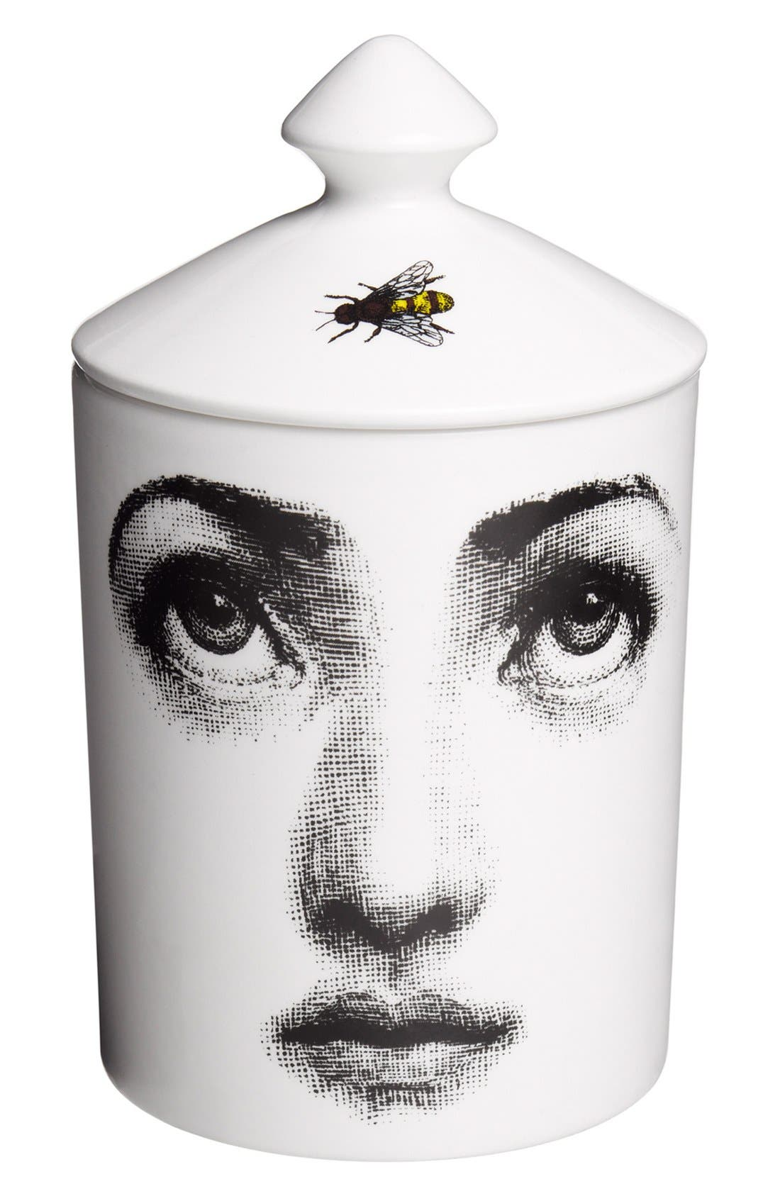 Main Image - Fornasetti 'L'Ape - Otto' Lidded Candle