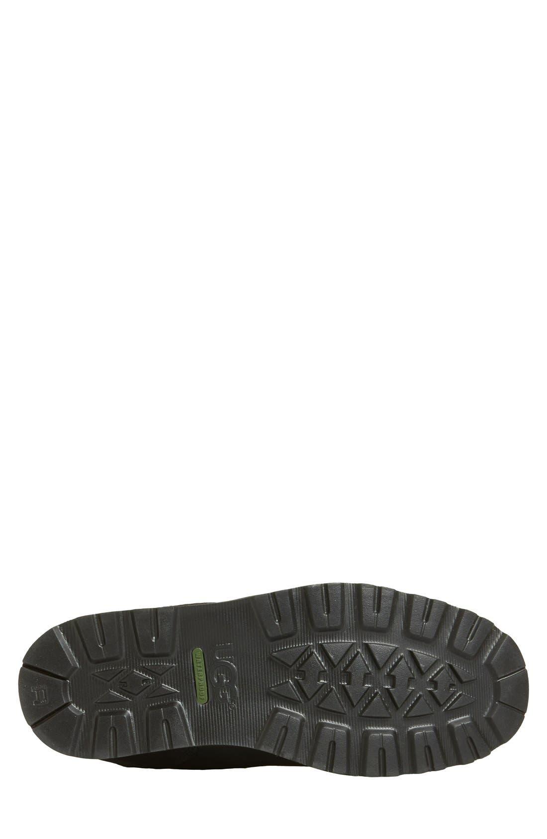Hendren TL Waterproof Zip Boot,                             Alternate thumbnail 4, color,                             Black