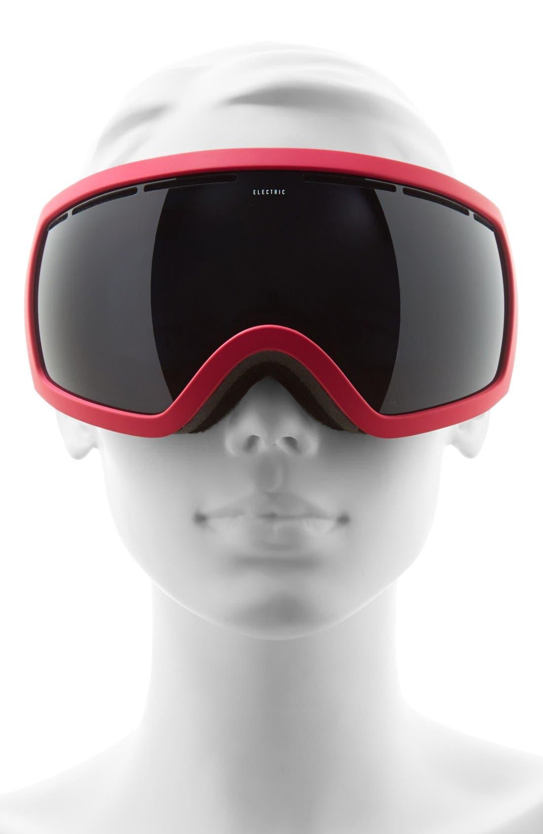 EG 2.5 215mm Snow Goggles,                             Alternate thumbnail 2, color,                             Solid Berry/ Jet Black