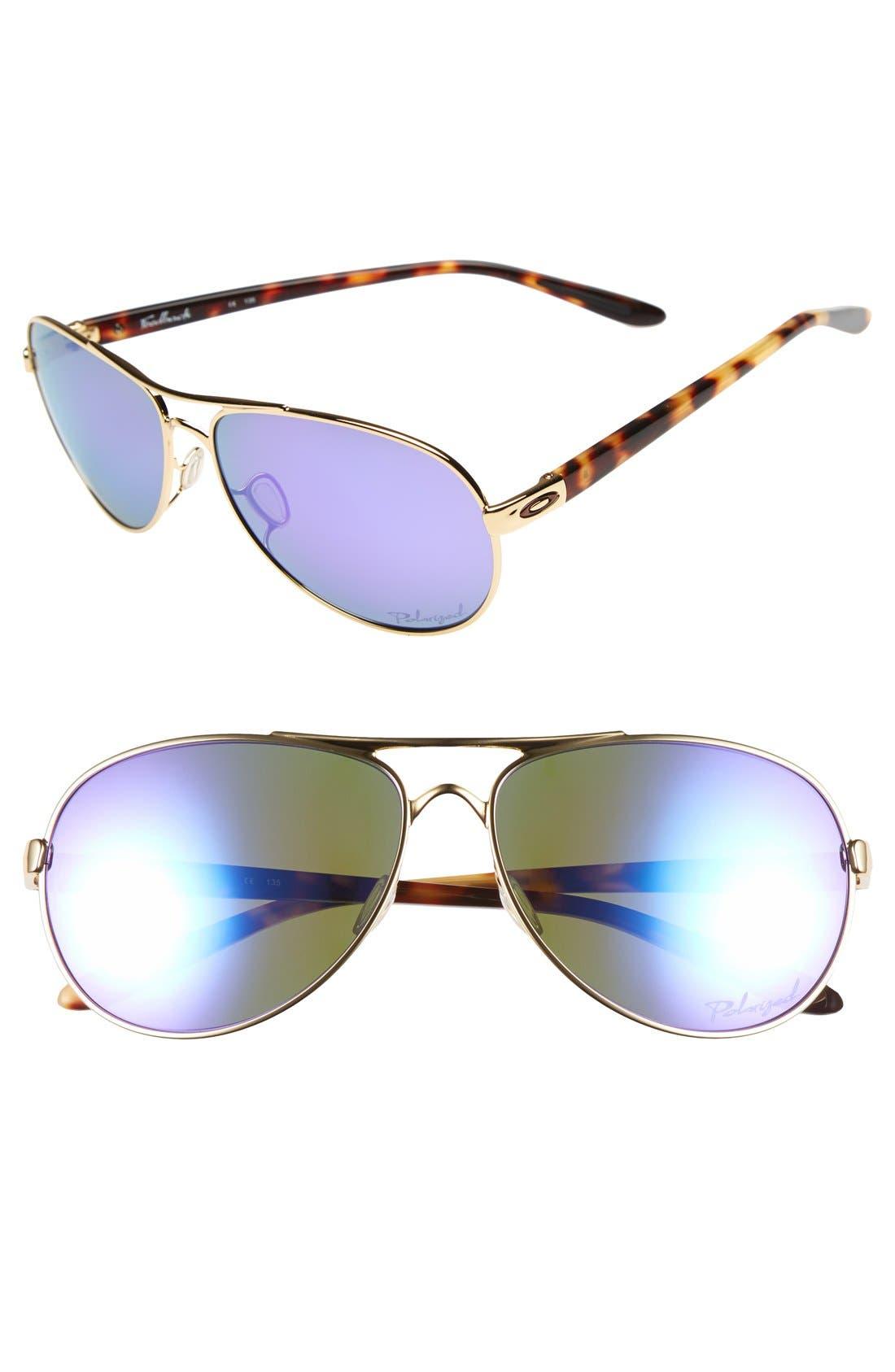 Oakley Feedback 59mm Polarized Sunglasses Nordstrom