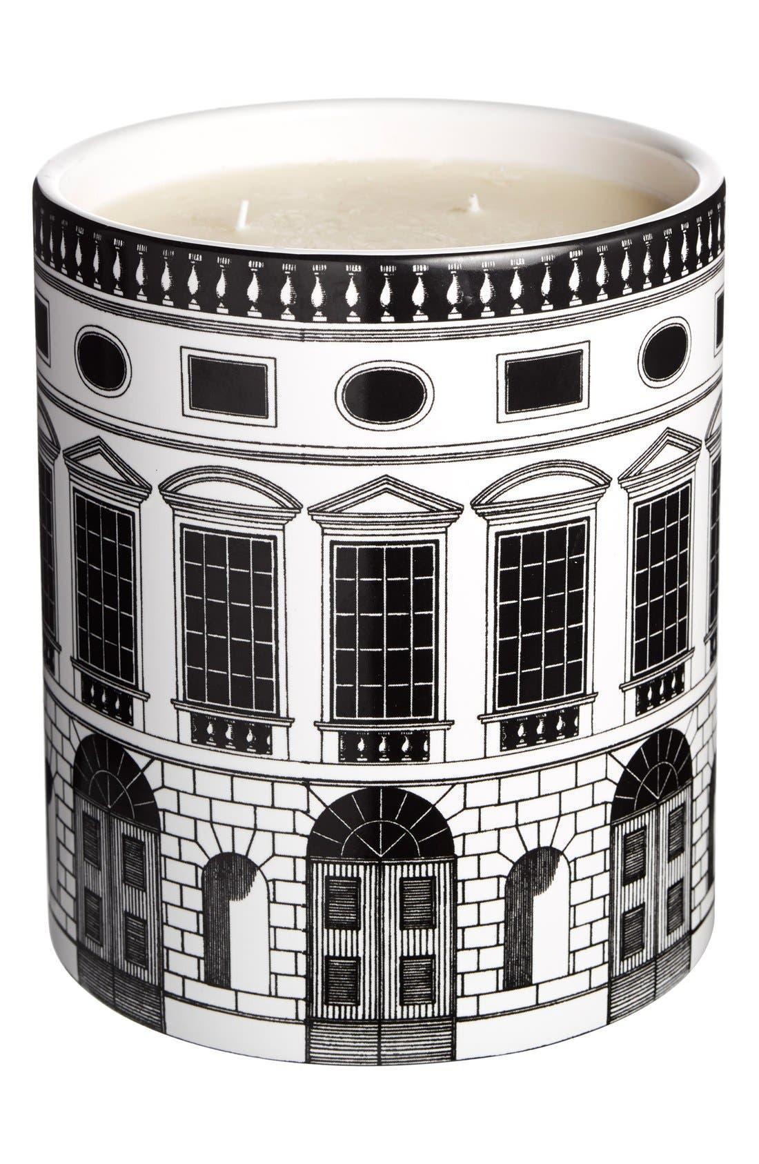 Fornasetti 'Architettura - Otto' Large Candle