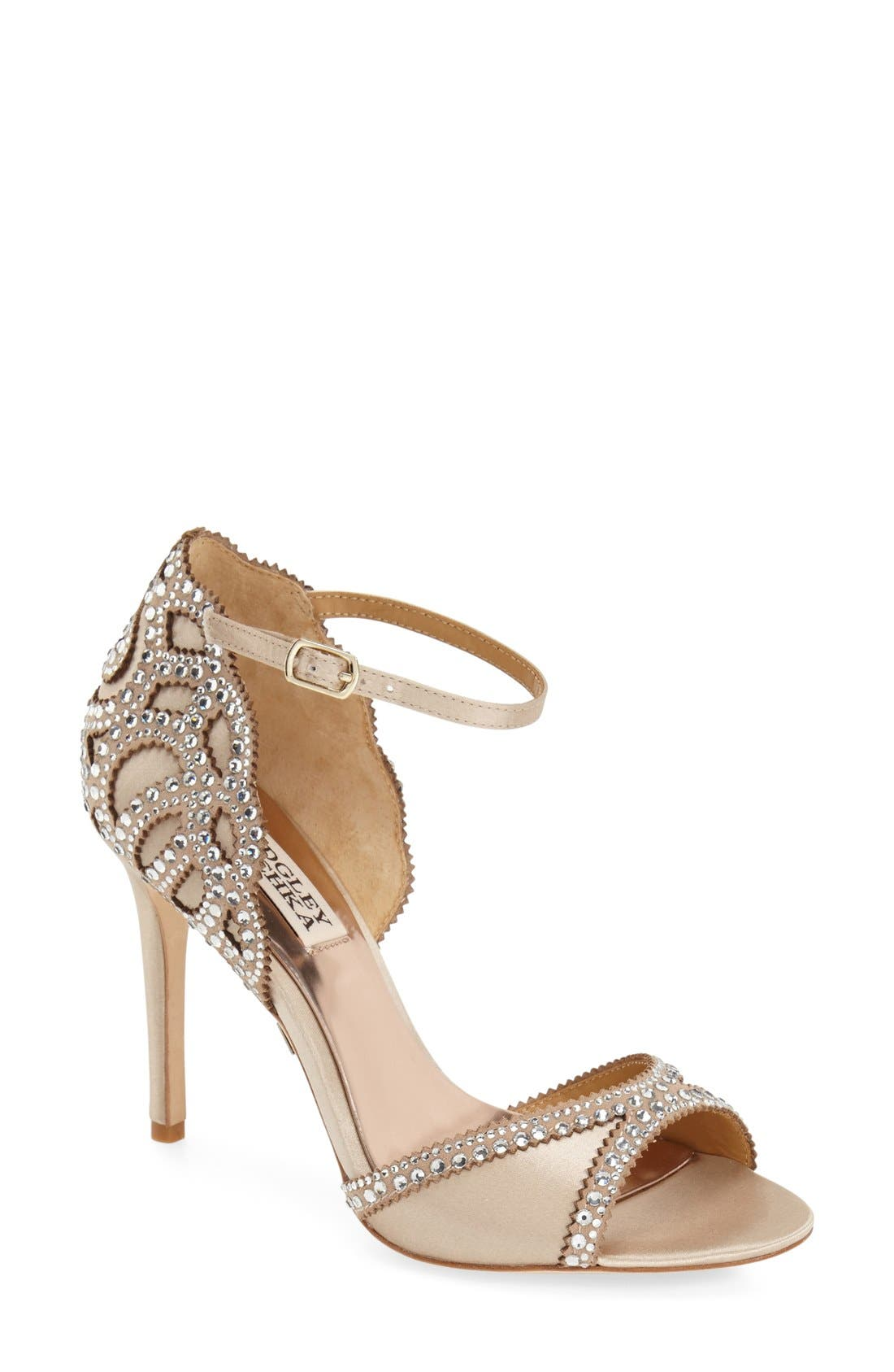Main Image - Badgley Mischka 'Roxy' Sandal (Women)