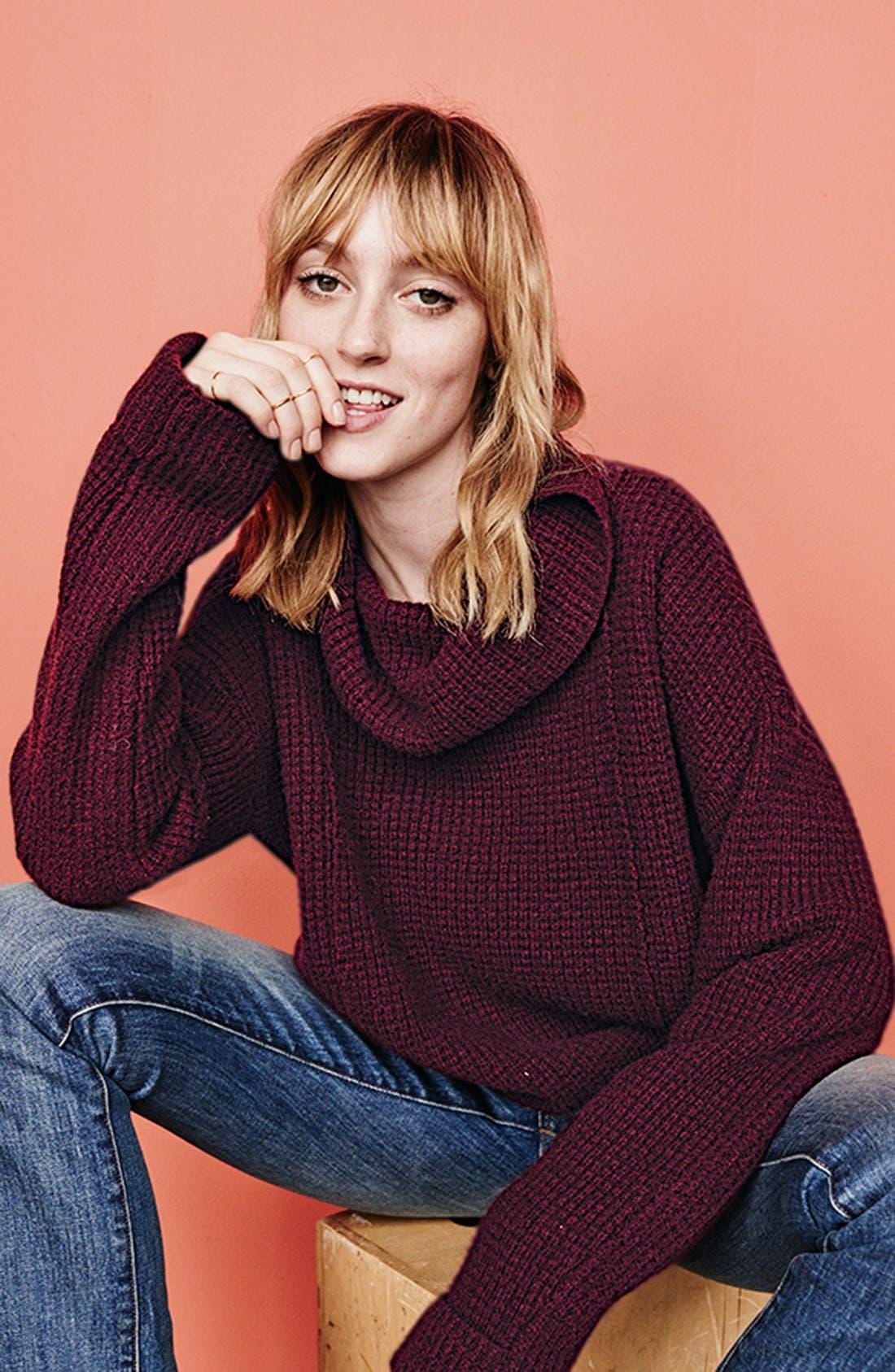 Alternate Image 2  - Free People 'Sidewinder' Wool Pullover
