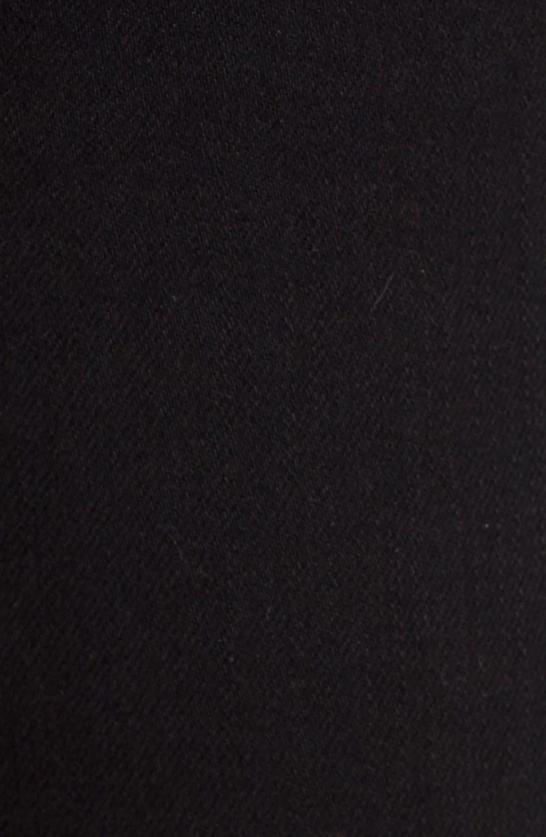 Alternate Image 5  - Hudson Jeans 'Collin' Supermodel Skinny Jeans (Black) (Long)