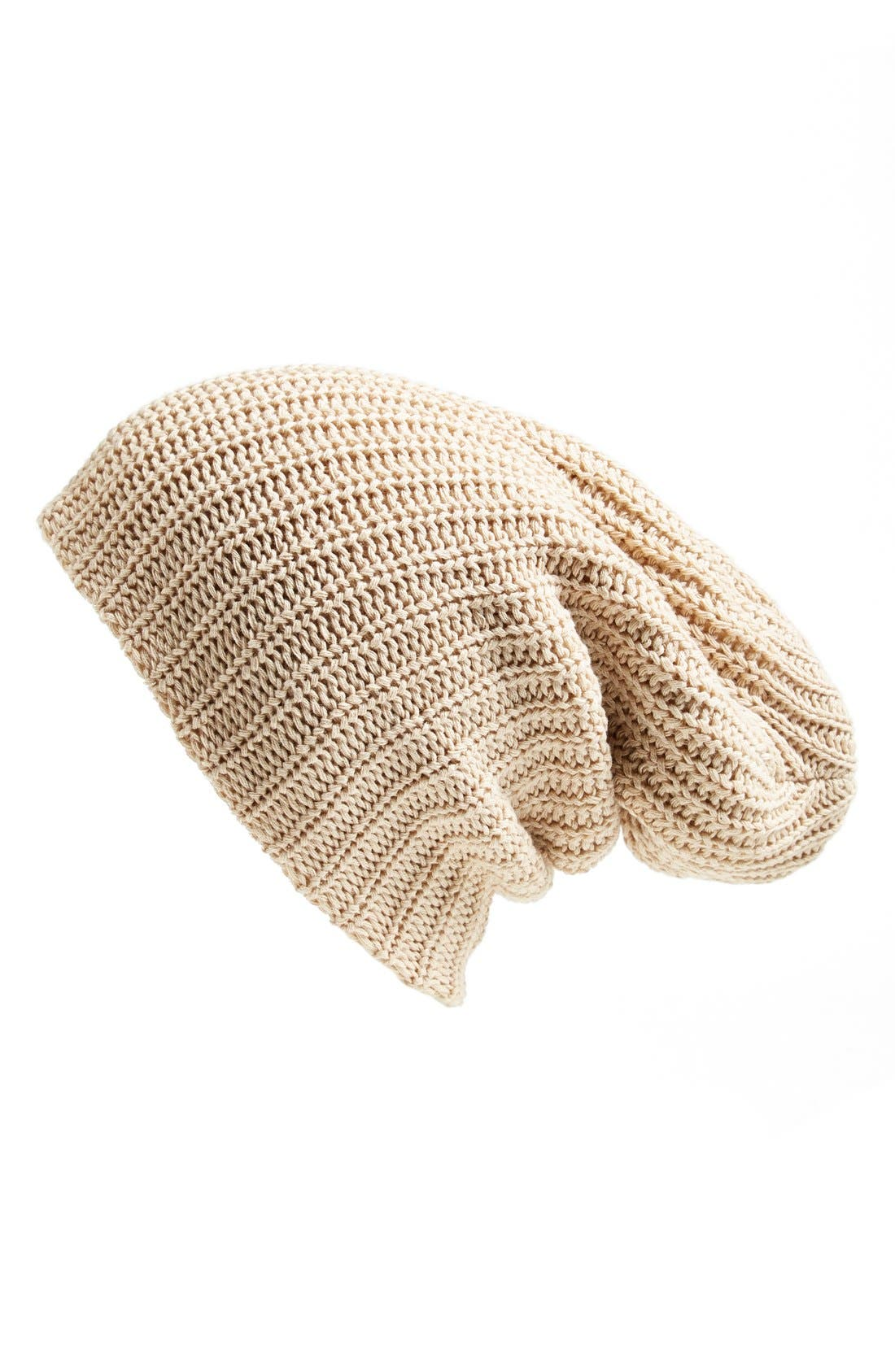 Main Image - Free People 'Capsule' Slouchy Knit Beanie