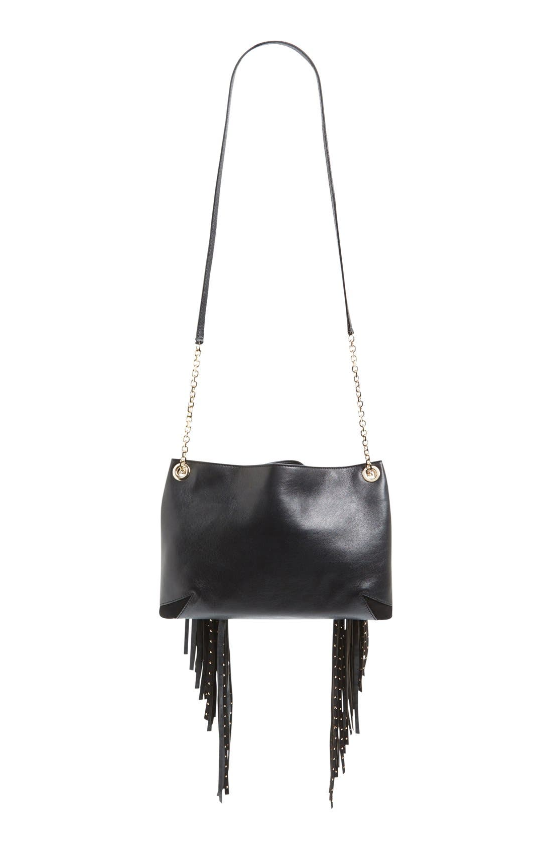 Alternate Image 4  - Jimmy Choo 'Alexia' Fringe Crossbody Bag