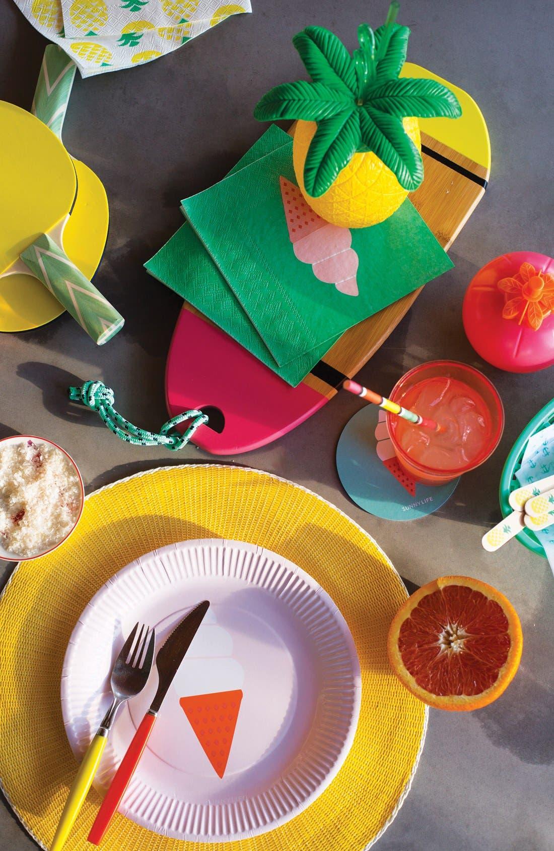 Alternate Image 4  - Sunnylife Pineapple Cup & Straw
