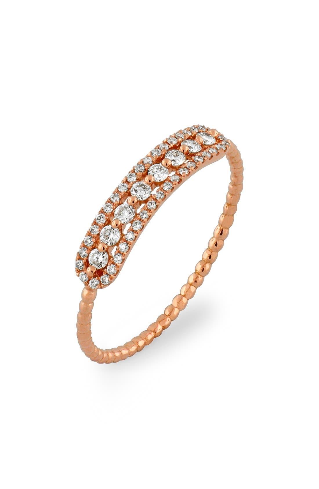 Bony Levy Bar Diamond Ring (Nordstrom Exclusive)