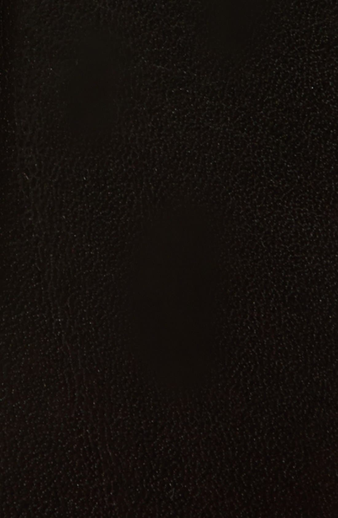 'Oscar' Leather Belt,                             Alternate thumbnail 2, color,                             Black