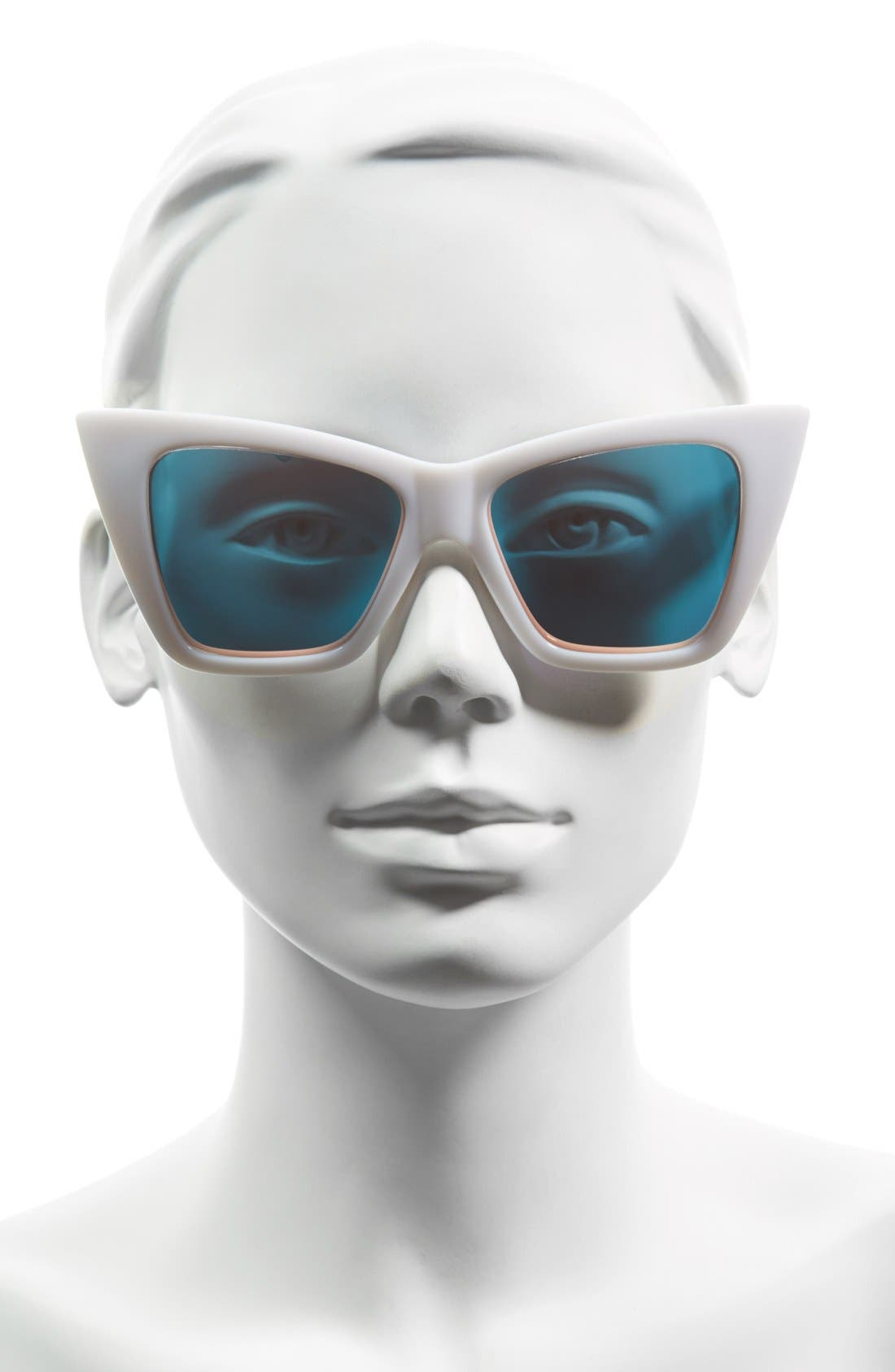 Alternate Image 3  - Quay Australia 56mm 'Vesper' Exaggerated Cat Eye Sunglasses