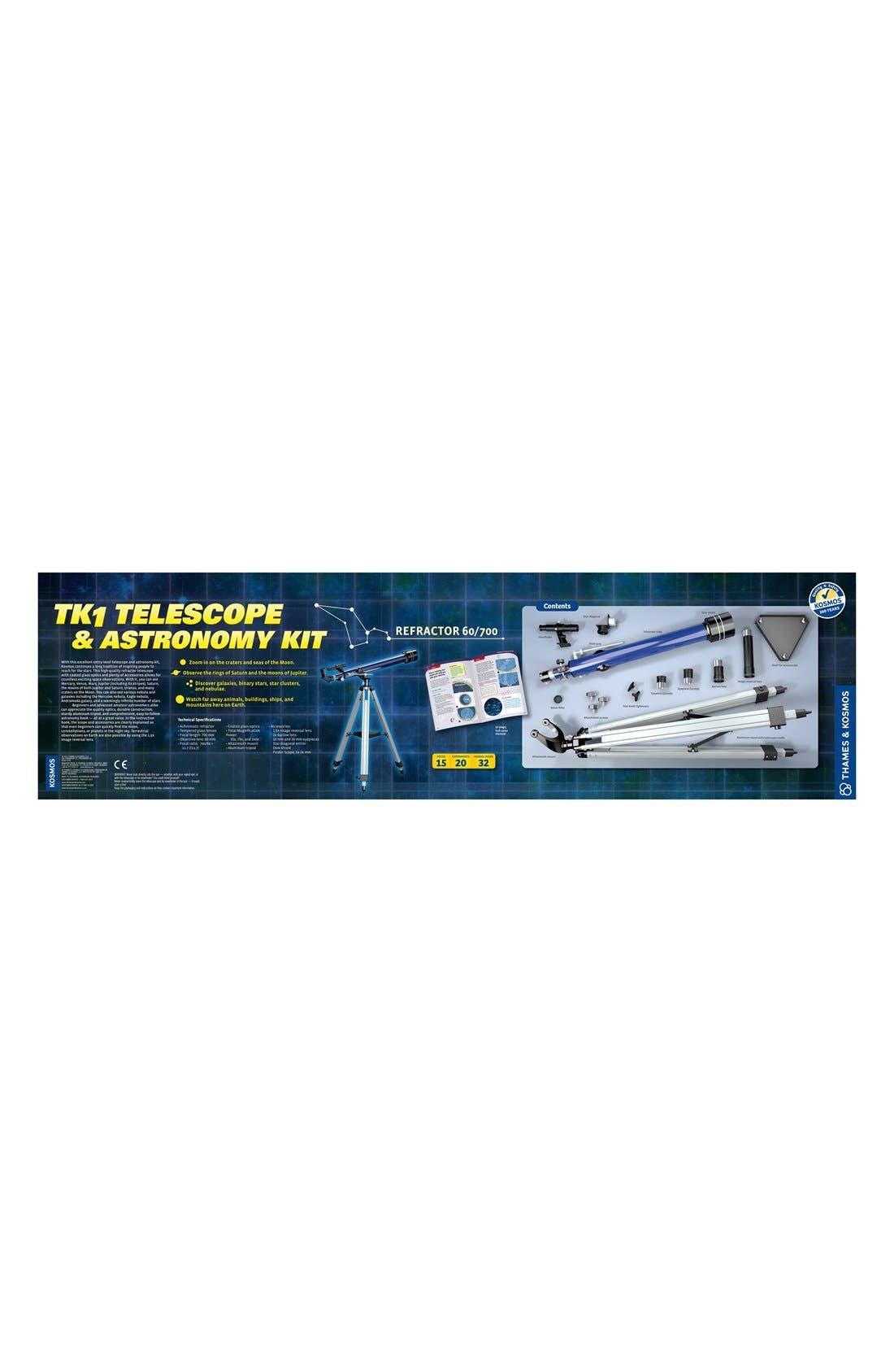 'TK1' Telescope & Astronomy Kit,                             Alternate thumbnail 2, color,                             Blue