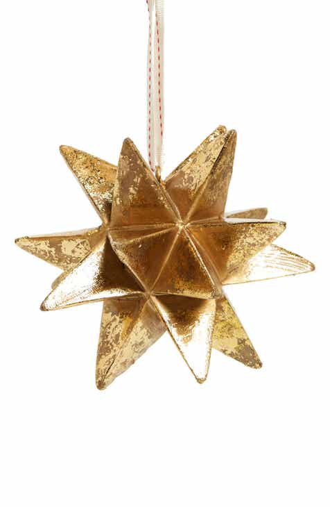 nordstrom at home metallic star ornament - Narwhal Christmas Decoration