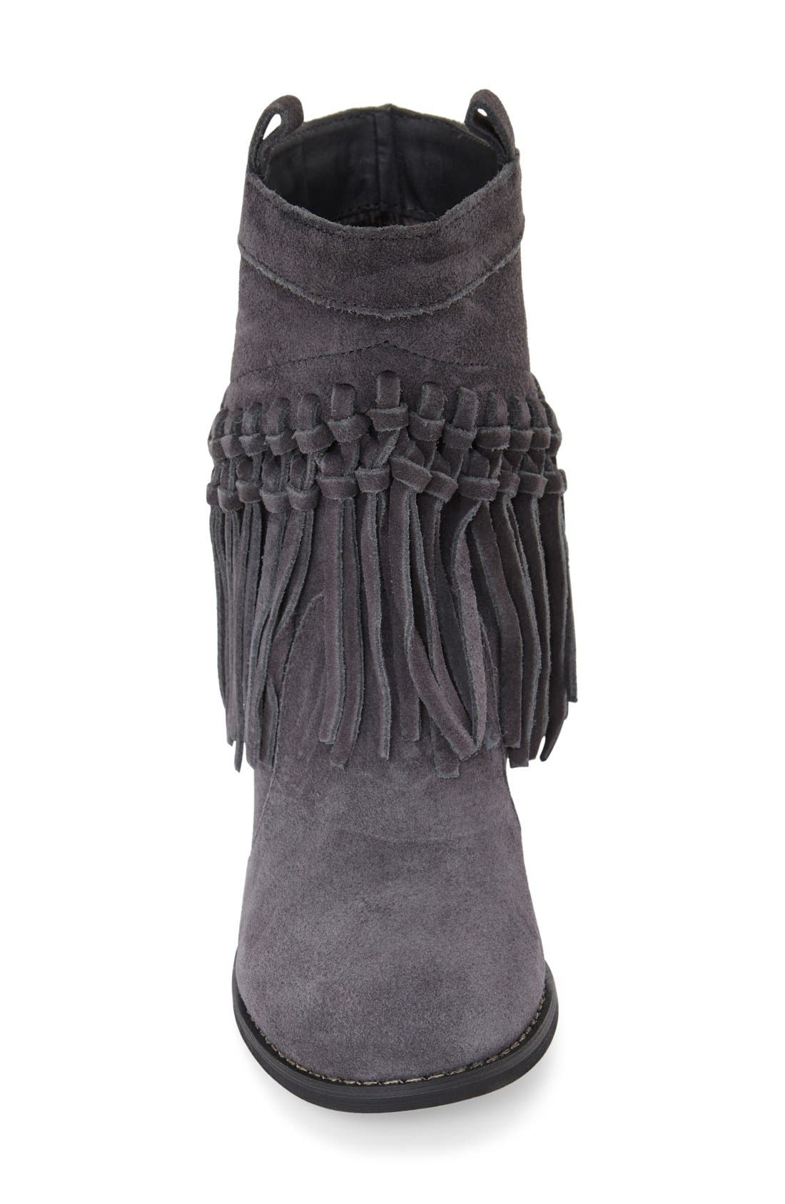 Alternate Image 3  - Sbicca 'Sound' Fringe Suede Bootie (Women)