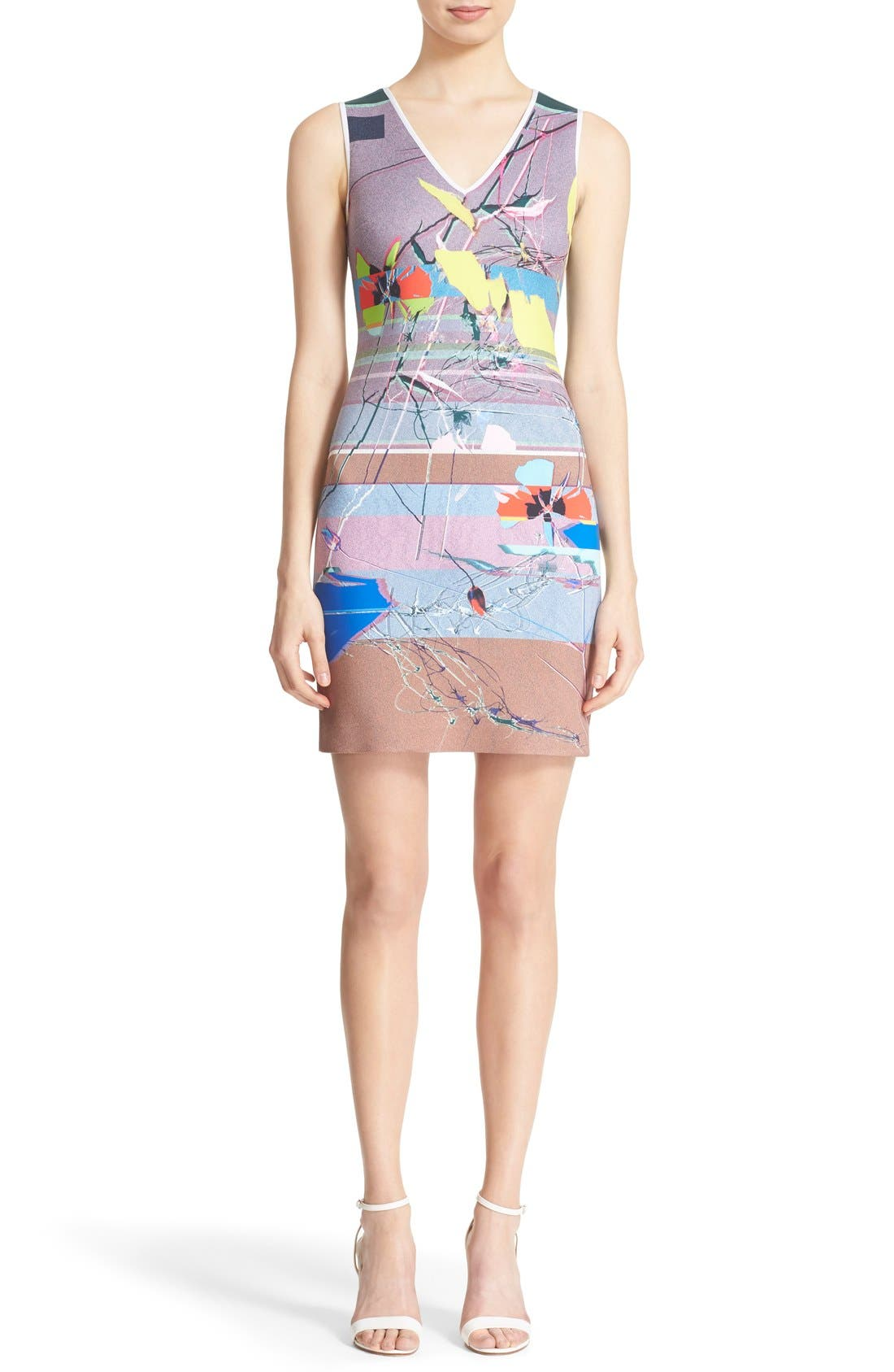 Alternate Image 1 Selected - Clover Canyon 'Coastal Currents' Sheath Dress
