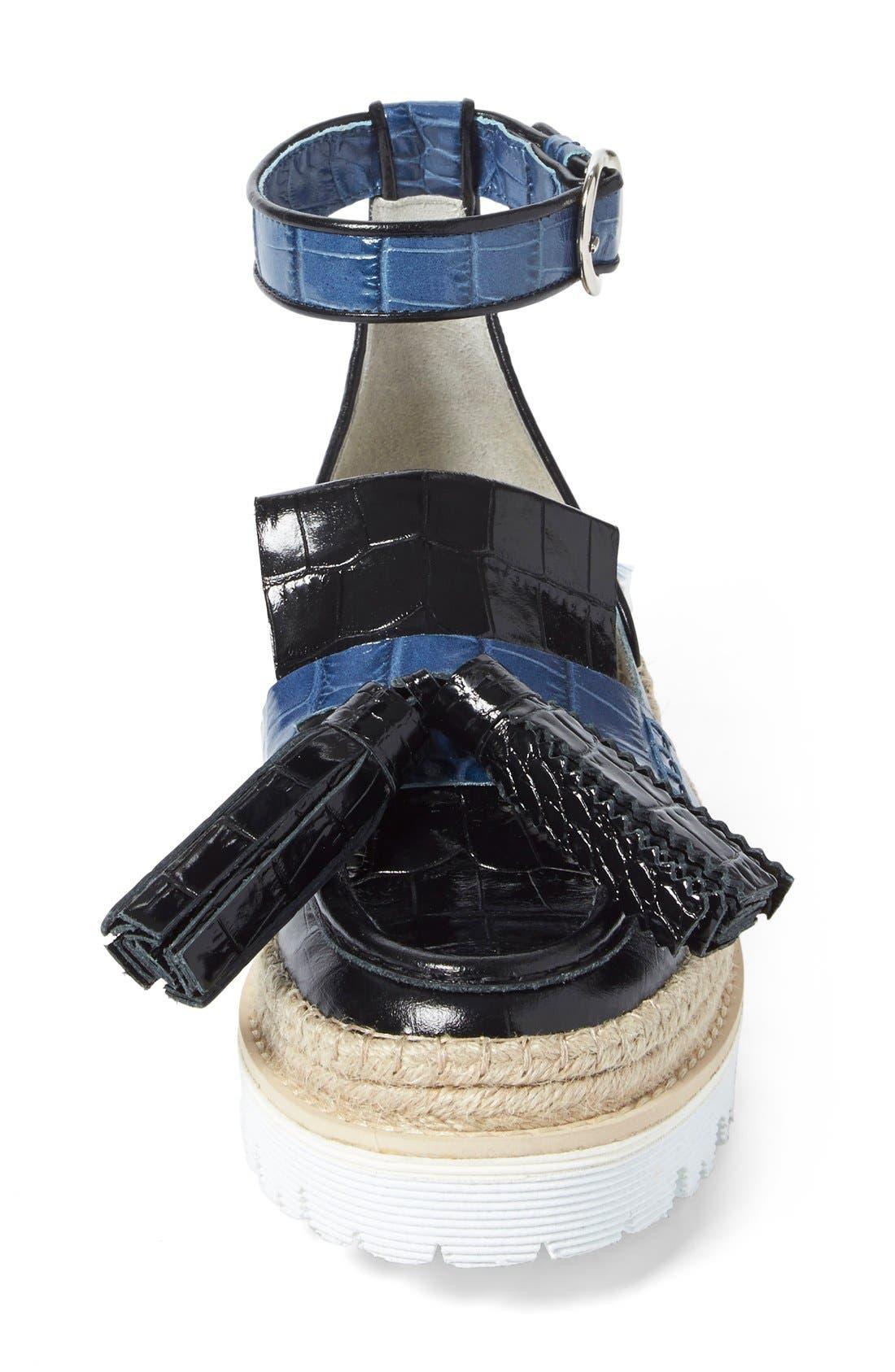 Alternate Image 3  - MSGM Rope Detail Tassel Loafer