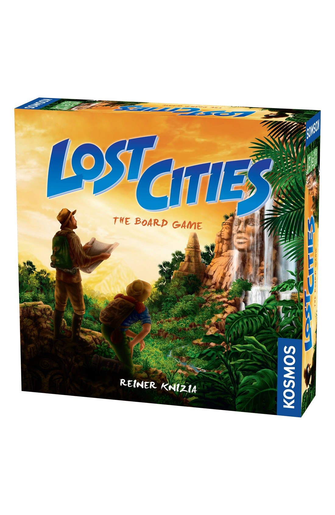 'Lost Cities - The Board Game',                             Main thumbnail 1, color,                             Orange