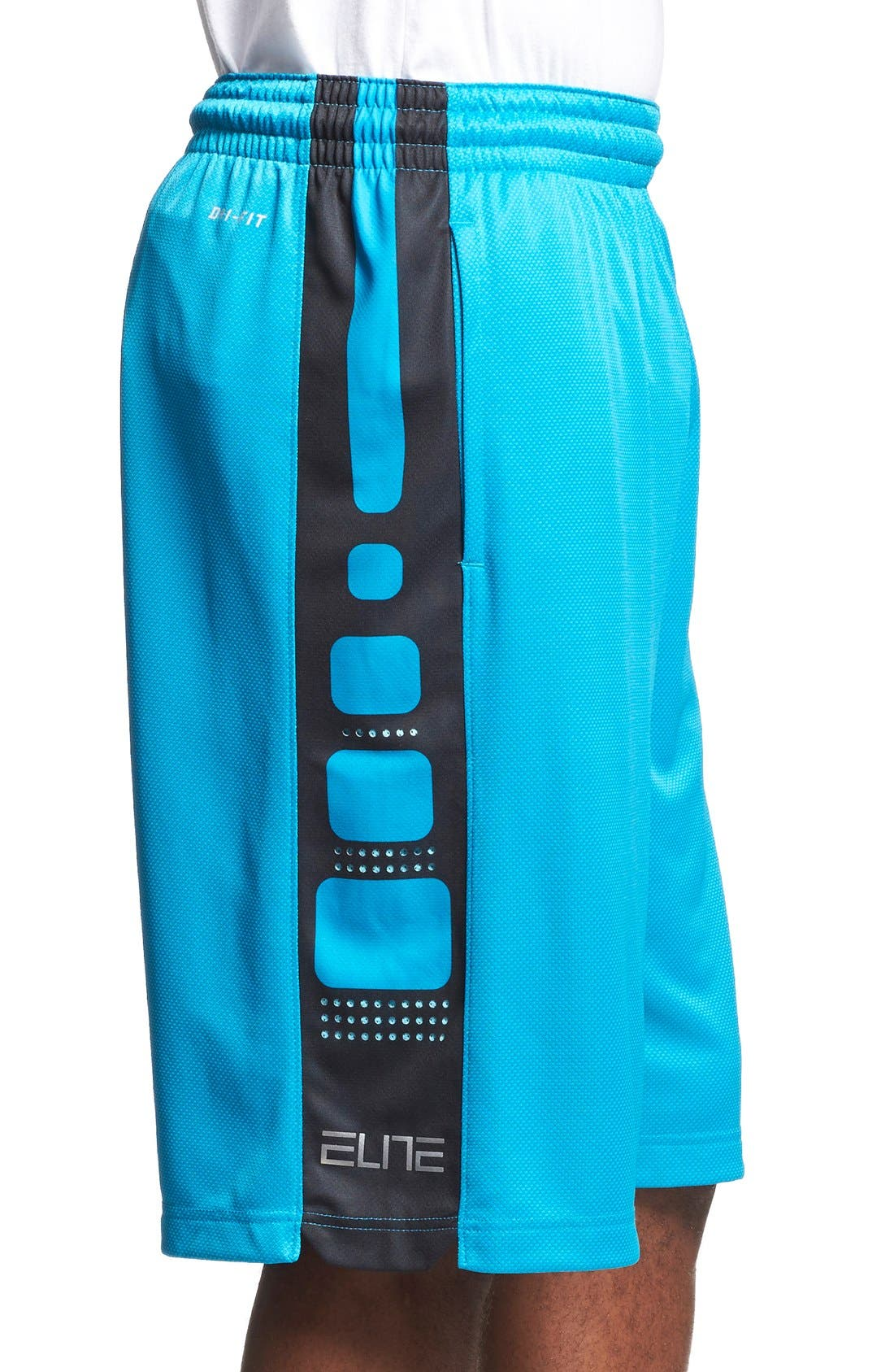 Alternate Image 3  - Nike 'Elite' Knit Basketball Shorts