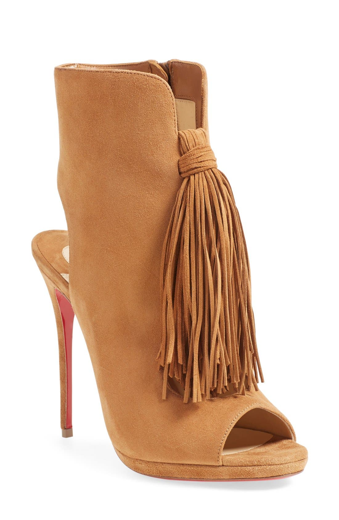 Alternate Image 1 Selected - Christian Louboutin 'Ottoka' Fringe Sandal