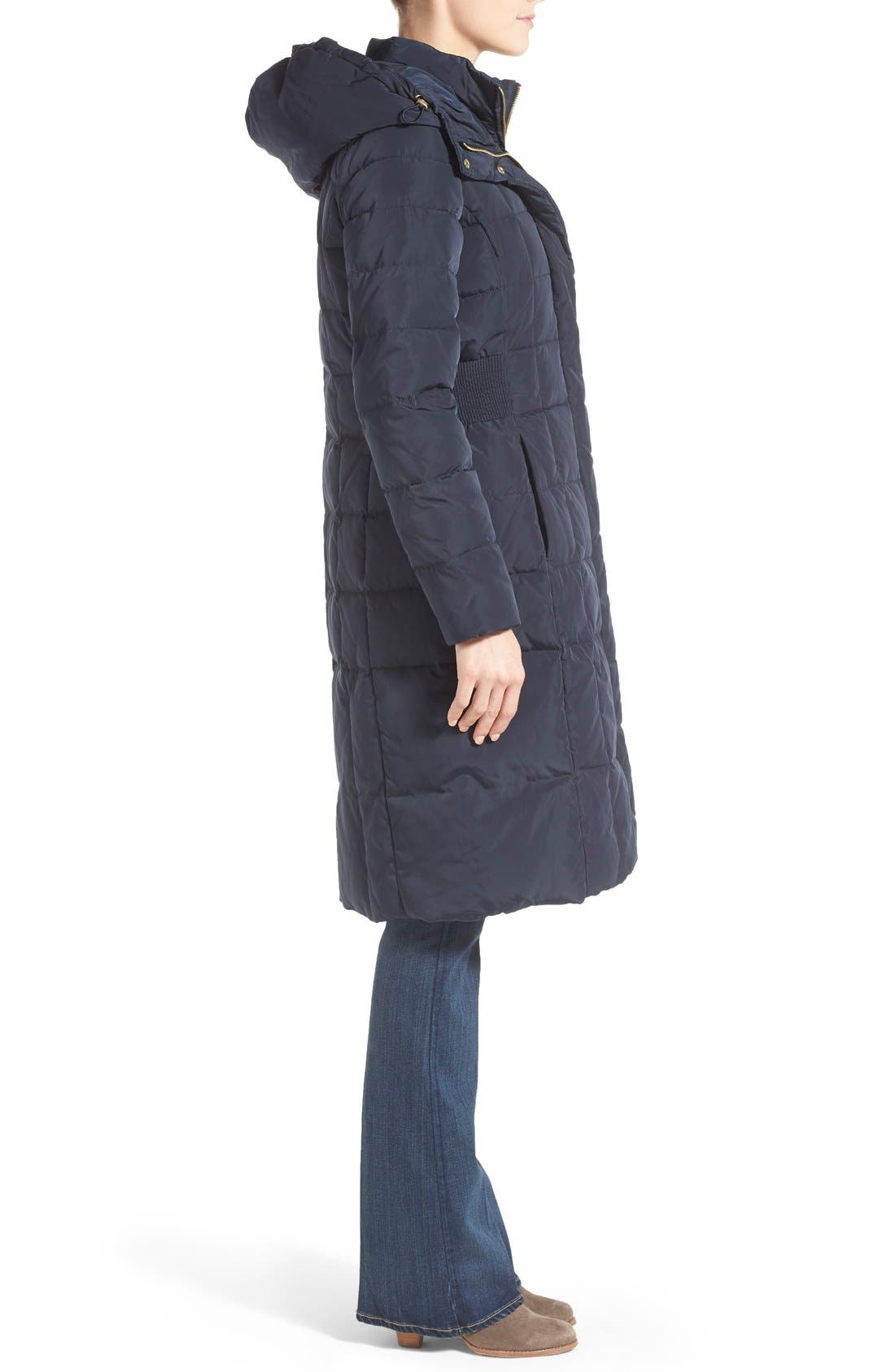 Alternate Image 3  - Cole Haan Bib Insert Down & Feather Fill Coat (Regular & Petite)