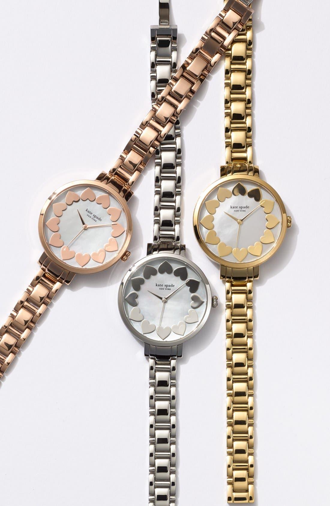 Alternate Image 5  - kate spade new york bracelet watch, 34mm