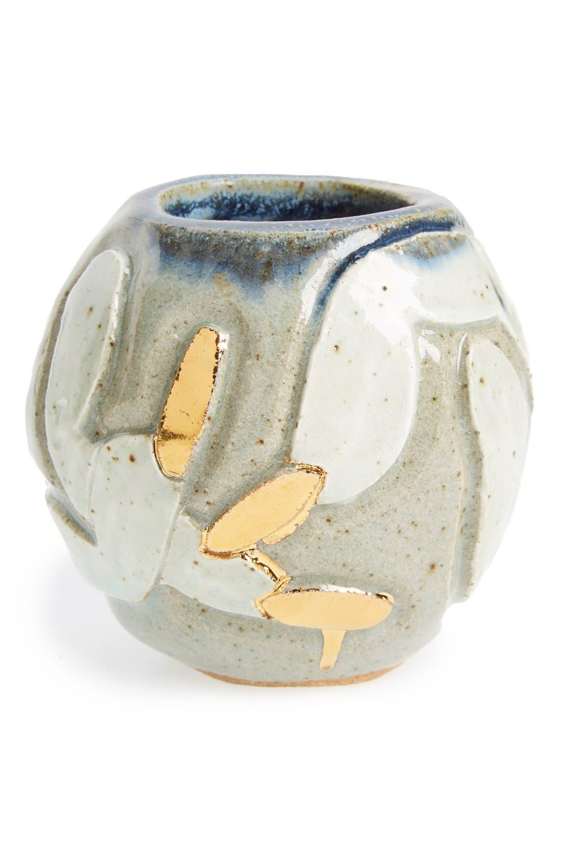 Alternate Image 1 Selected - BZIPPY & CO. 'Nails' Handmade Ceramic Vase