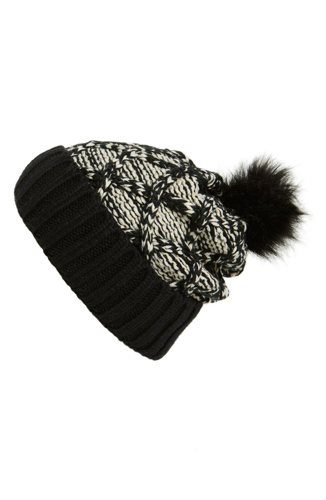 Alternate Image 1 Selected - Evelyn K Knit Hat