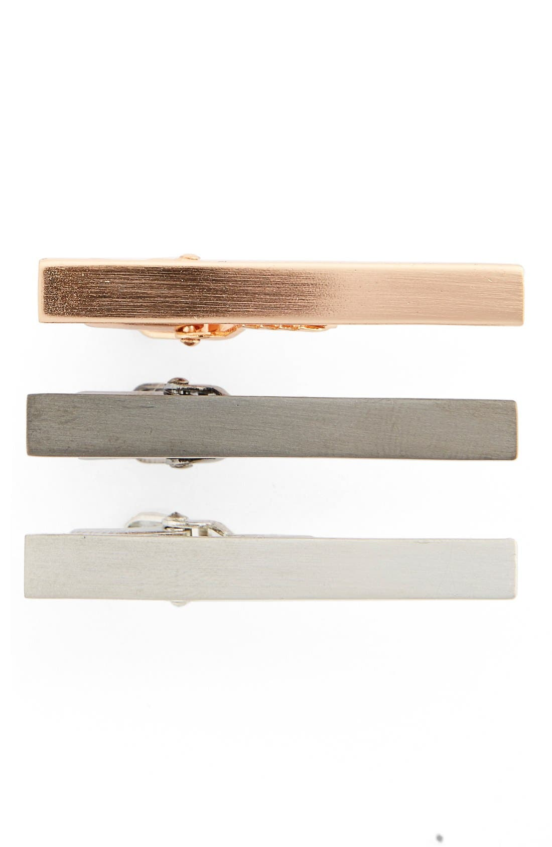 The Tie Bar Brass Tie Bar Gift Set (3-Pack)