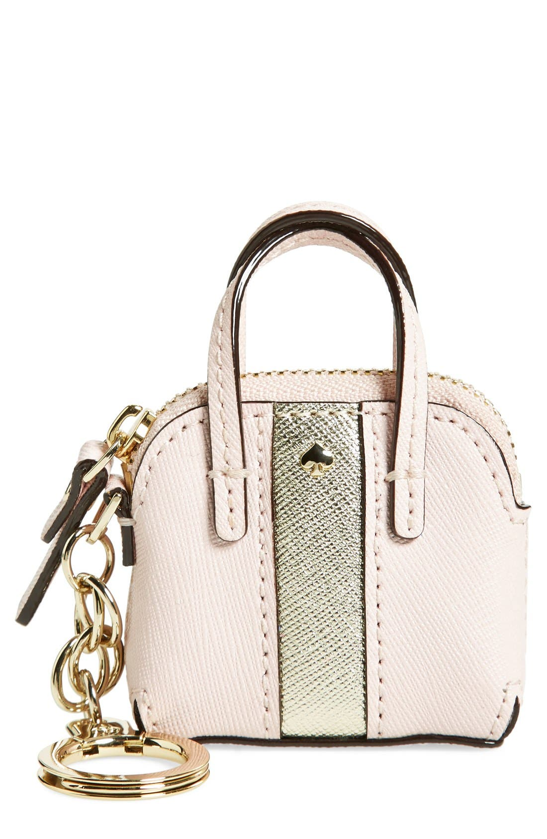 Alternate Image 1 Selected - kate spade new york 'racing stripe - maise' bag charm