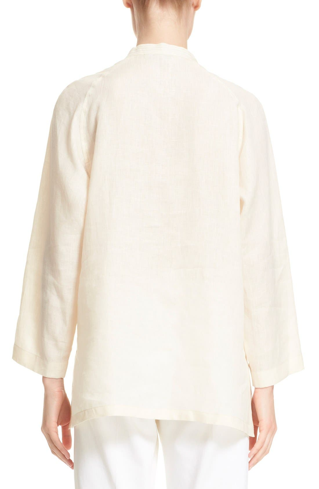 Alternate Image 2  - Max Mara 'Picchio' Linen Blouse