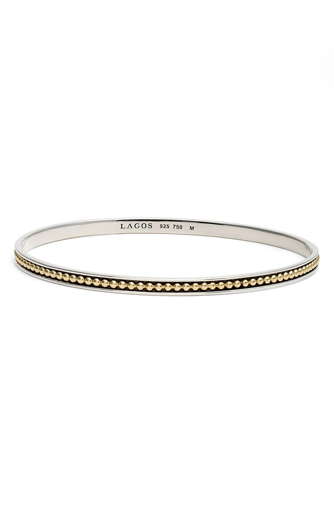 LAGOS 'Enso' Caviar Bangle