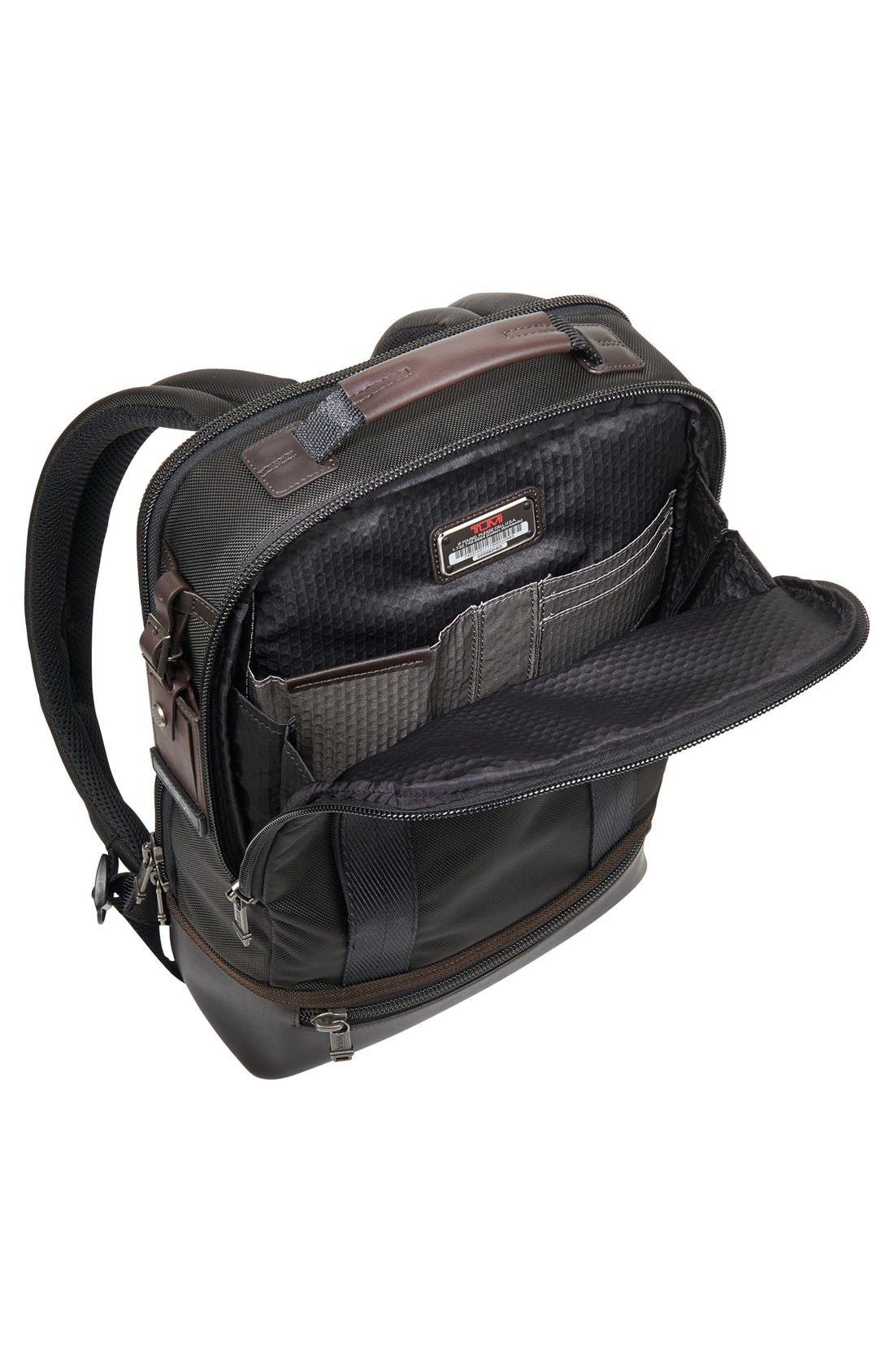 'Alpha Bravo - Dover' Backpack,                             Alternate thumbnail 4, color,                             Hickory