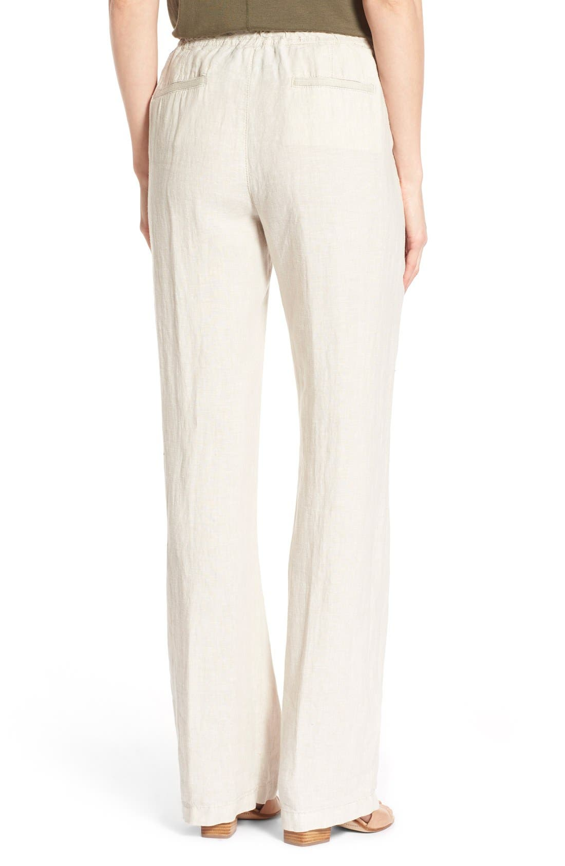 Pants for Women On Sale, White, polyestere, 2017, 24 Chloé